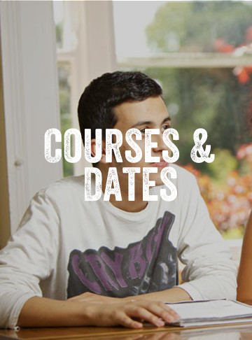 Courses and Dates at Carlingford