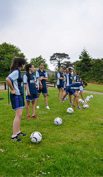 Footgolf is a fun activity which is a combines of football