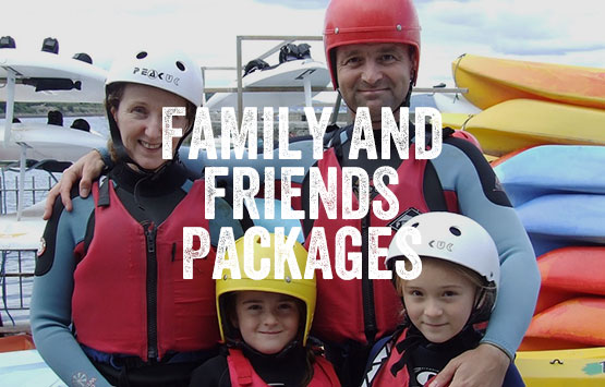 Family and Friends Package at Carlingford Adventure